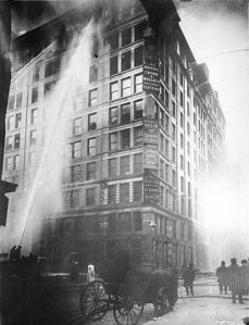 age of Triangle Shirtwaist Factory fire on March 25 - 1911